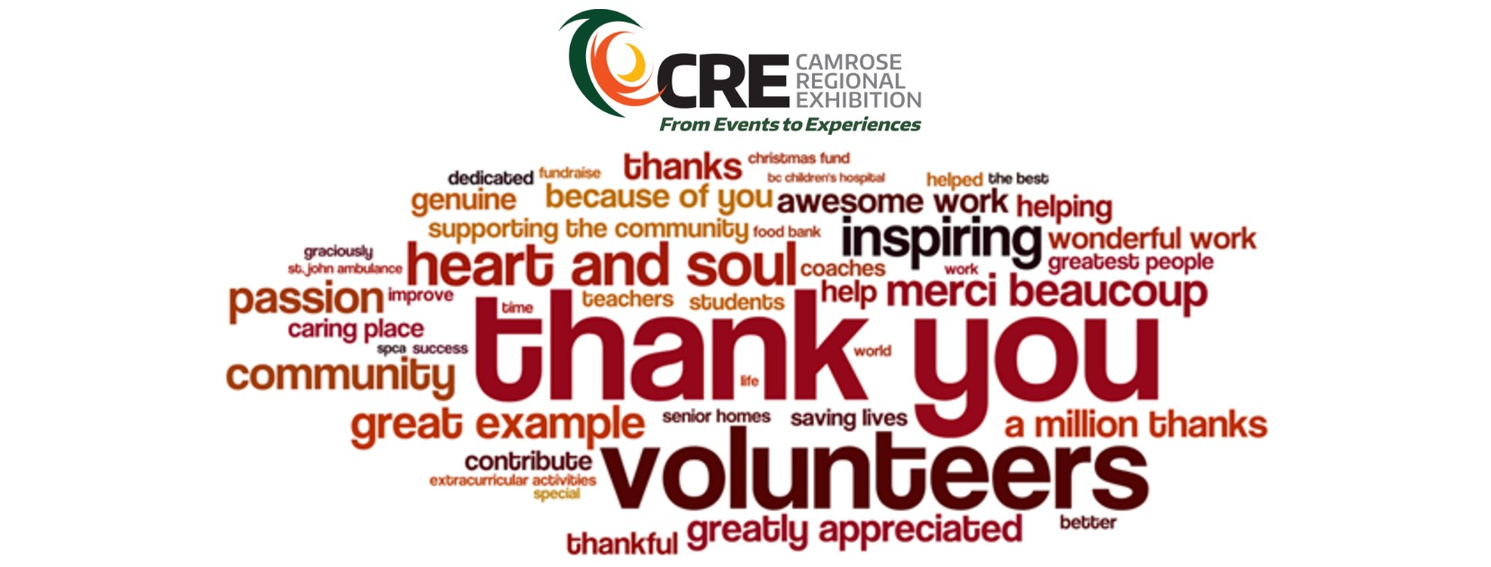 Volunteer Appreciation night poster