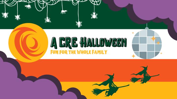 A CRE Halloween Banner