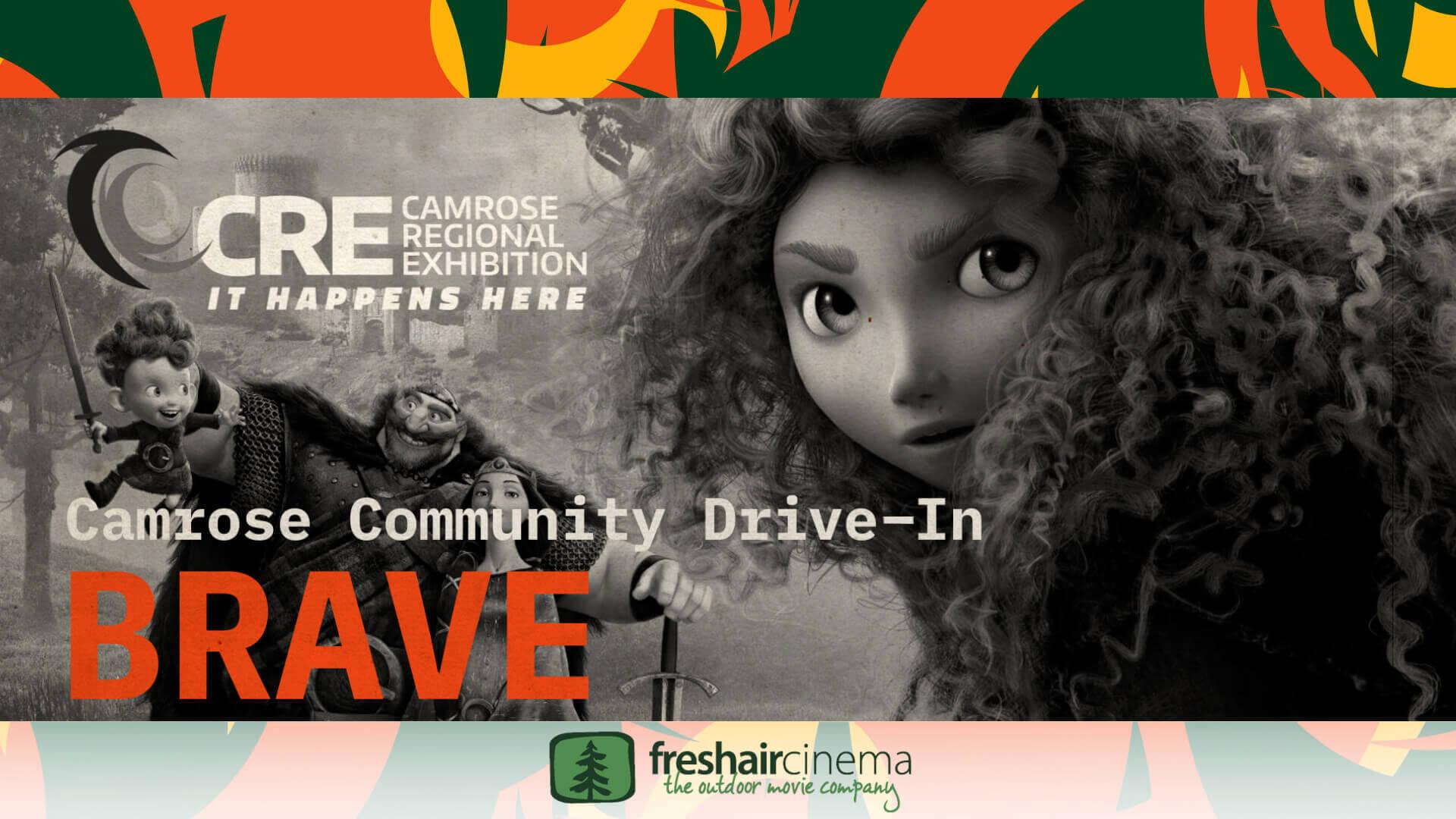 Camrose Community Drive-In - Brave