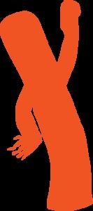 Wavy orange guy